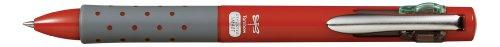 Tombow BC-FRL31 Vierfarb-Kugelschreiber Reporter 4 smart besonders, weich schreibend, rot