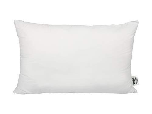 beties PublikFreeKopfkissen ca. 40x60 cm Kissenfüllung Allergiker-Kissen Allergikergeeignet Kissen Schlafkissen Weich Polyester-Faserbällchen Bezug 100% Baumwolle
