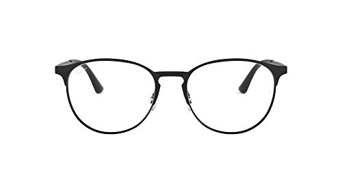 online glasses retailers Ray-Ban Rx6375f Metal Asian Fit Round Prescription Eyeglass Frames