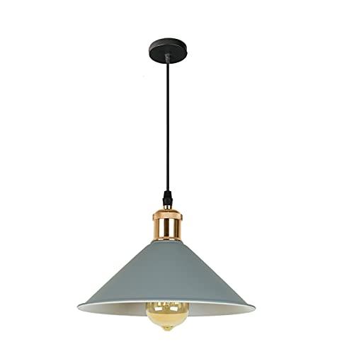 Lámpara colgante de la lámpara del colgante del estilo retro retro del vintage de la lámpara colgante de la lámpara de la lámpara for la cocina del dormitorio de la cocina Entrada de la sala de comedo