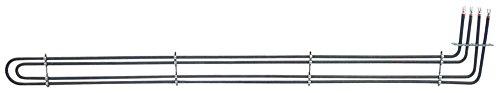 Fagor - Radiador para amortiguadores HMP-20-11, HME-20-11, HME-10-21, HMM-40 para recirculación de aire 4000 W, 230 V, longitud 570 mm, ancho 100 mm