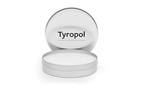 Tyrolit 34269325 Tyropol Universal Reinigungs- und Polierpaste, Polierkorn, weiß, 100 Gramm