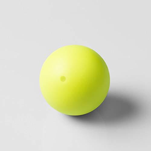 Play Juggling - Bola de juegos para juguetería modelo MMX - Amarillo UV, 135 g, 67 mm