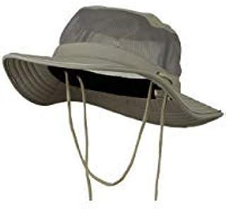 ca10997b5a3 E4hats Big Size Talson UV Mesh Bucket Hat - Grey XL-2XL at Amazon Men s  Clothing store  Sun Hats