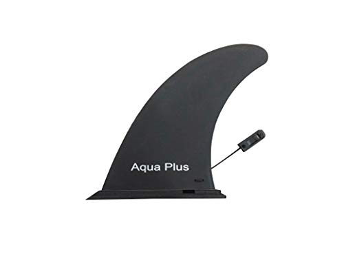 Aqua Plus Inflatable SUP Center Fin Paddle Board Set Fins (Black, 9inch)