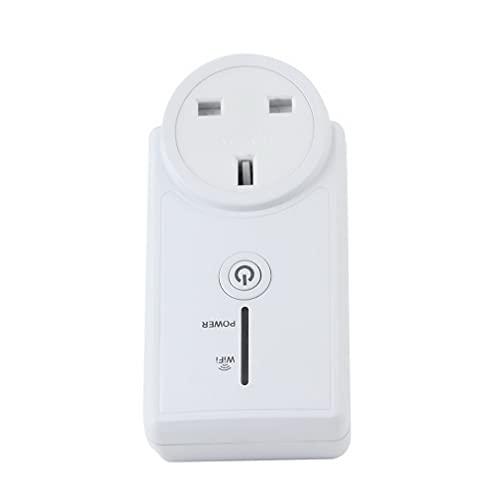 Control Remoto del teléfono móvil de la Ayuda de la impulsión múltiple del zócalo de Poder del Control Remoto de WiFi Reino Unido