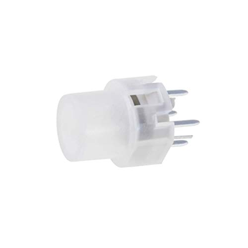 KS01-BL-2 Microswitch 1-position SPST-NO 0.01A/35VDC THT LED yellow HIGHLY