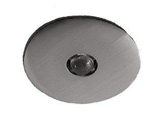 C-light lot de 10 spots encastrés pour effet ciel étoilé lED en aluminium aspect acier inoxydable brossé ø 40 mm (rouge) livré avec 6 lED transformateur mini vA)