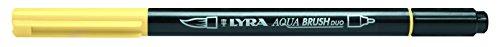 LYRA Rotulador Aqua Brush Duo Amarillo Crema Caja 10 Uds