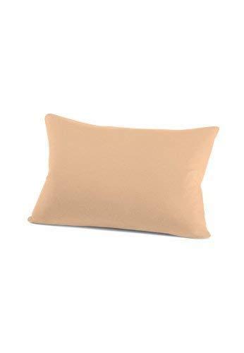 schlafgut 034-700 Mako Jersey Kissenbezug / 40 x 60 cm, beige