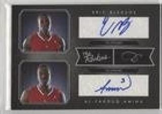 Al-Farouq Aminu; Eric Bledsoe #48/99 (Basketball Card) 2010-11 Elite Black Box - The Rookies Dual - Signatures [Autographed] #3