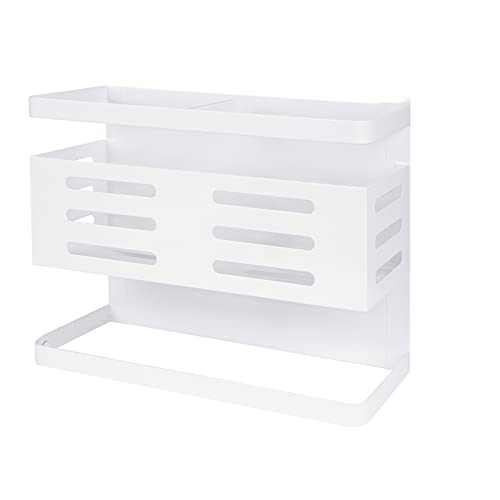 DEECOZY Estante magnético para especias para cocina, estante magnético para frigorífico para estantes de cocina, pared para lavandería, baño