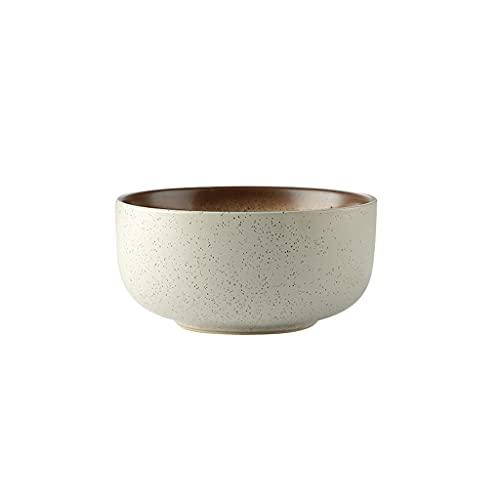 xxy Cuencos de Porcelana Ramen japonés Sopa de Ramas Cuenco de Cereales Tazones de Fideos for tazones de Cocina for el hogar Múltiples Estilos 1 7X8.5CM (Style : Sesame Gold)