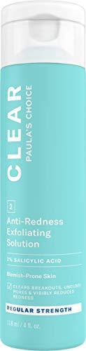 Paula's Choice Clear 2% BHA Exfoliante Fuerza Regular - Peeling Facial Quita Puntos Negros & Limpiador de Poros - con Ácido Hialurónico & Ácido Salicílico - Pieles Normales a Mixtas - 118 ml