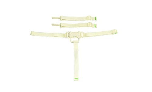 Fisher Price SpaceSaver High Chair Replacement Pad (CREME SPACESAVER STRAPS)