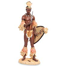 Figura Guerrero Africano 33 cm