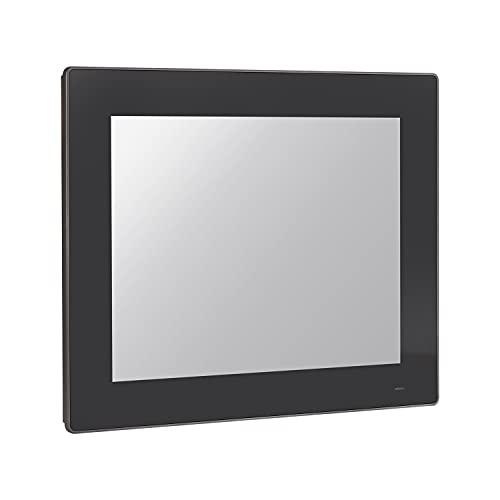 HUNSN 15' TFT XGA LED Industrial Panel PC, 10 Point Projected Capacitive Touch Screen, J1900, Windows 7/10 / Linux Ubuntu, PW21, Front Panel IP65, VGA/LAN/3COM/FANLESS, (8G RAM/512G SSD/1TB HDD)