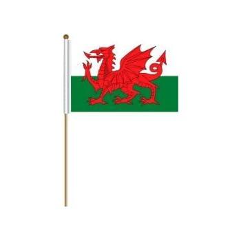 "12x18 12/""x18/"" Wales Sleeve Flag Boat Car Garden"