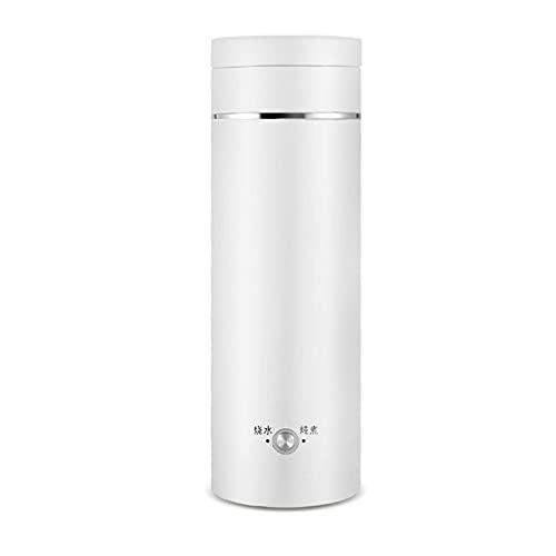 Calderas, Tornos portátiles Hervidor de agua eléctrico Mini Termos Tetera inteligente Taza de calefacción Copa de ebullición de leche Botella de guerra de metal de acero inoxidable mei (Color : C)