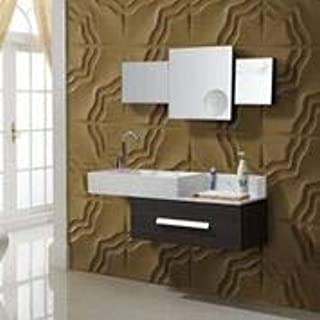 3D Decorative Panels Wall Forms 32.9 ft2 / (12 Panels of 50×50 cm / 19.6×19.6 in) (Star)