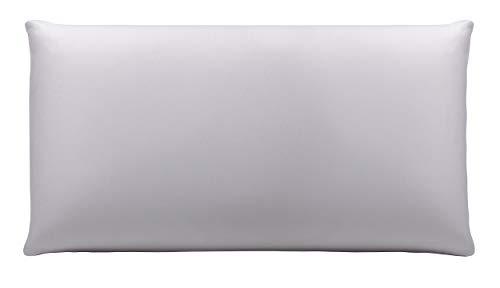 Pikolin Home fa68050pk080bla kussensloop Lyocell, híper-transparant en waterdicht, katoen, wit, 40.0 x 70.0 x 1,0 cm