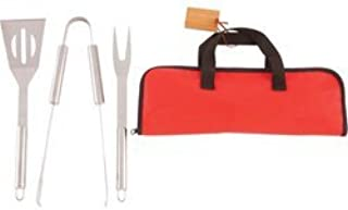 4Pc Stainless Steel Bbq Set
