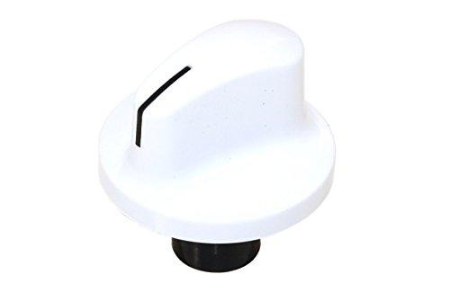 Beko BEK2509100941 - Pomo giratorio para horno (con interruptor y botones, sustituye a la placa de cocina), color blanco