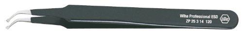 Wiha 32337 ZP 25314 SMD-Pinzette Typ 8b,120mm