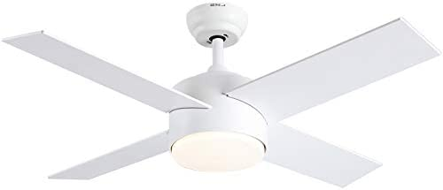 Ceiling Fan with Lights and Remote Control SNJ Modern Ceiling Fan for Living Room Bedroom Dining product image
