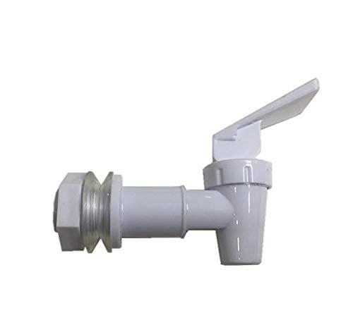 Juego de 4 grifos de repuesto para grifo de agua blanca, conector de plástico roscado interno de plástico sin Bpa..