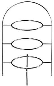 ASA 99201950 Lot de 4 pailles à dessert en acier inoxydable pour assiette à dessert ATABLE 21 cm