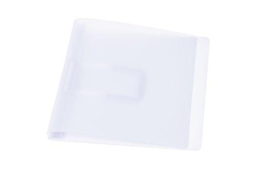 Schnellhefter, transparent mit flacher, elastischer Schlauchheftung