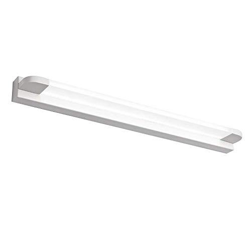 GAOYINMEI Lluminación de Pared Lámpara de Pared Impermeable Anti-vaho Espejo Superior de Tecnología Diseño de Tensión de Hierro del Circuito de Control, Acrílico luz de la Pared