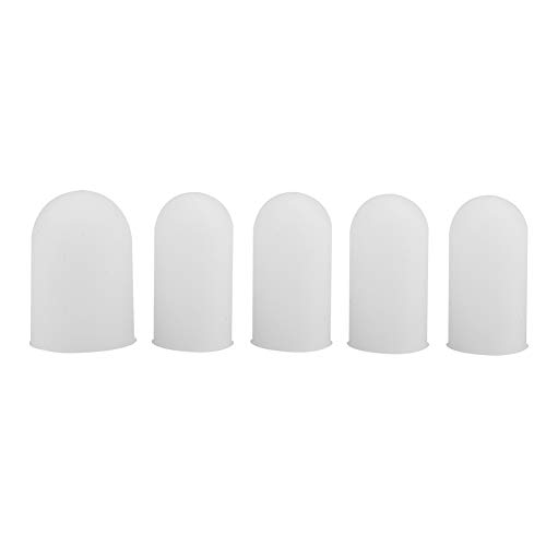 5 x Gel-Fingerlinge, Silikon-Fingerschutz, Fingerbandagen, Pflaster.