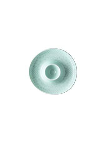 Rosenthal - Junto - Opal Green - Eierbecher mit Ablage - Porzellan