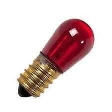 Arteleta art. 60255 lampadina rossa di ricambio per collana Confezione da 10