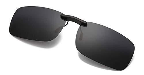 NAVARCH Gafas Clip Polarizadas Gafas de Sol Clip on Gafas de Sol para Gafas polarizadas UV400 de Miopía al Aire Libre/Conducción/Pesca