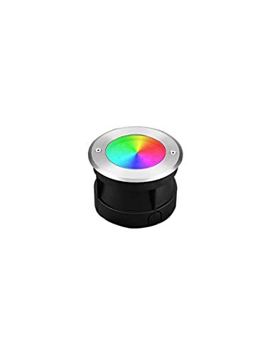 Foco LED exterior empotrable 9W RGB CCT IP68 AC12V-DC12-24V LoRa pilotable RD-9L