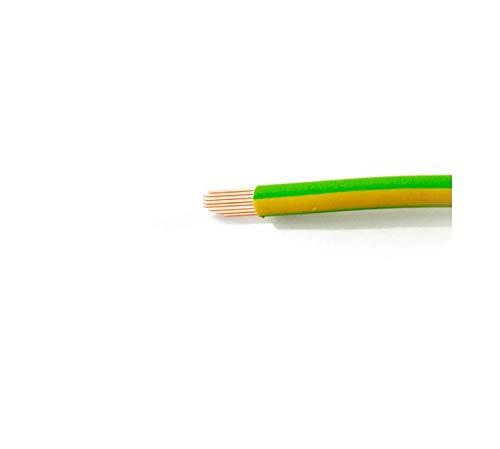 H07V-K 4mm² Erdungskabel grün/gelb flexibel 100 Meter