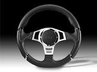 DesignTek M11106545182 Volant Millenium Sport Noir Lth/Gris