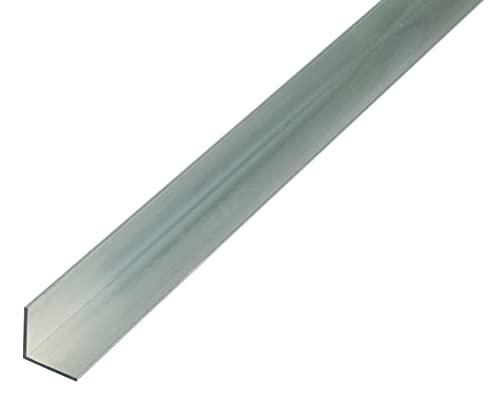 GAH-ALBERTS 473105 Perfil de ángulo, blankes Aluminium, 1000 x 30 x 30 mm