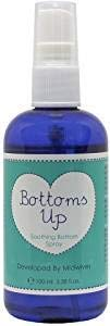 Natural Birthing Company Bottoms Up Soothing Bottom Spray, 1 Pack (1 x 100 ml)