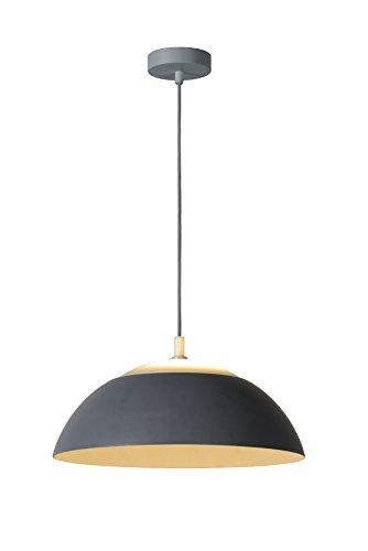 Lucide ELVERUM - Suspension - Ø 45 cm - LED - 1x23W 2700K - Gris