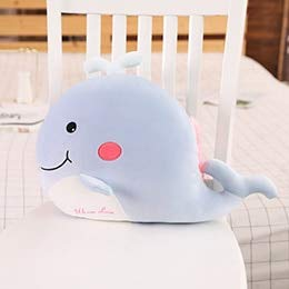N / A Squishy Cartoon Animals Plush Round Ball Shaped Hand