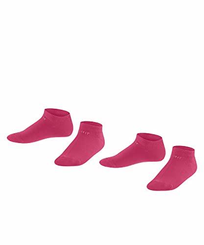 Esprit Foot Logo 2-Pack Calcetines, Rot (Scarlet 8859), 35-38 (Pack de 2) Unisex Niños