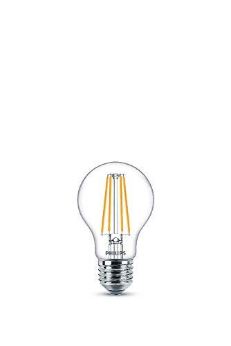Philips LEDclassic E27 Lampe, 1055 Lumen entsprechen 75W, warmweiß (2.700 Kelvin), klar