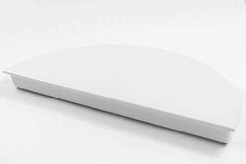 Schneider 1/2 Tortenplatte weiß, Kunststoff Melamin 32x16cm