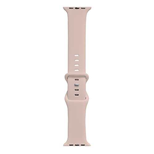 Sports Watch Silicone Wristband Strap 38mm 40mm. Soft Silicone Smart Watch Link Bracelet Band Compatible with iWatch Series 6 5 4 3 2 1 SE Homes. (Pink, 38/40mm)