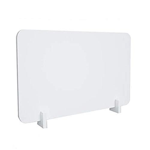 ATRNA Schreibtisch Trennwand, Trennwand-Privatsphäre für Callcenter/Büros/Bibliotheken/Klassenzimmer Clip Einschließen