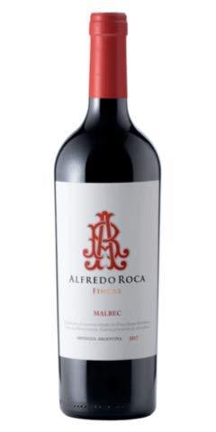 Alfredo Roca- Vino Tinto - Malbec - Vino Aromático y Equilibrado en Sabor -Industria Mendoza -Argentina - Cosecha 2018-75 Cl